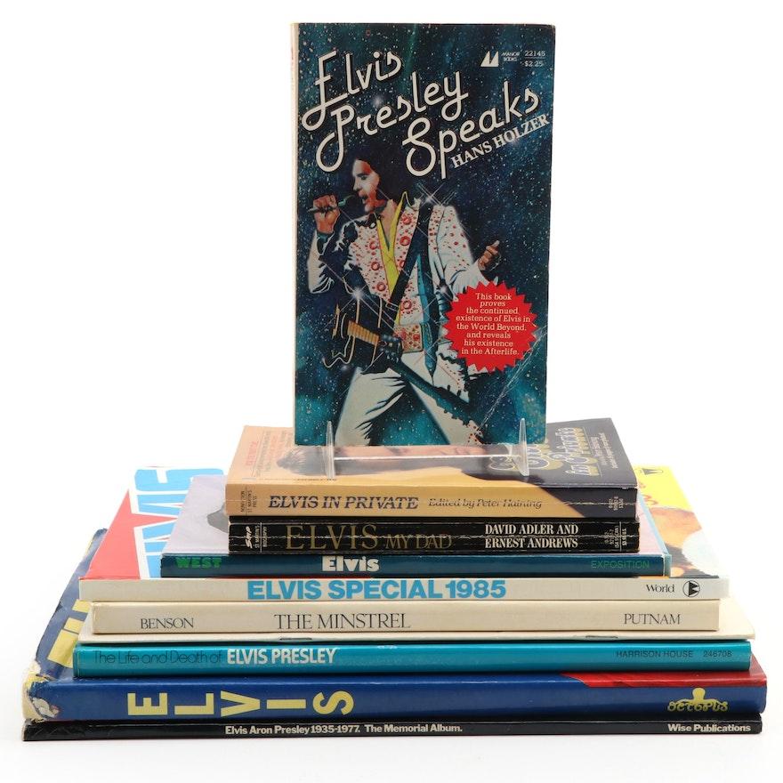 """The Minstrel"" by Bernard Benson and More Elvis Presley Biographies"