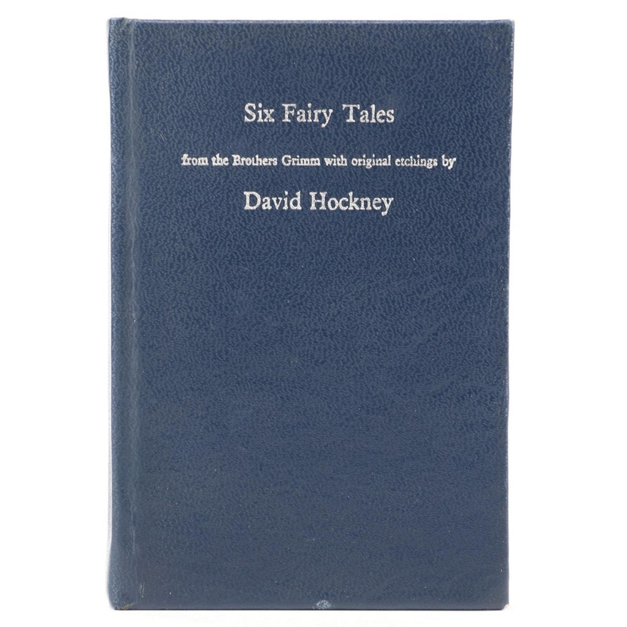 """David Hockney Illustrated """"Six Fairy Tales"""" by the Brothers Grimm, 1970"""
