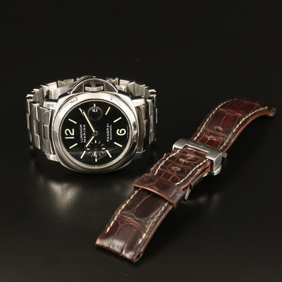 Panerai Luminor Marina PAM104 Stainless Steel Automatic Wristwatch
