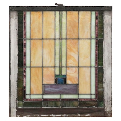 Stained Glass Window, Early 20th Century