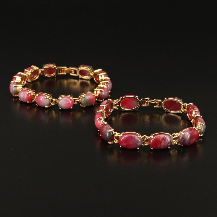 Quartz Link Bracelets