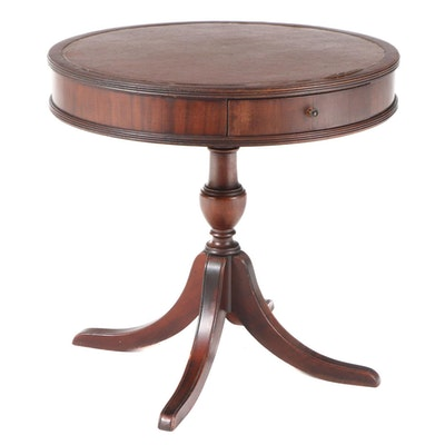 American Classical Style Mahogany Side Table, Early to Mid 20th Century