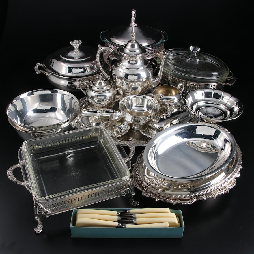 Wm Rogers, Towle, International Silver and Other Silver Plate Table Accessories