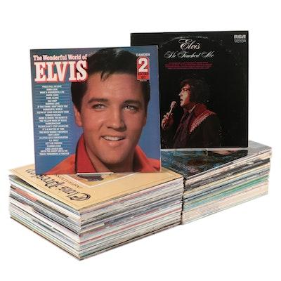 Elvis Presley Gospel, Rock, Christmas Vinyl LP Records