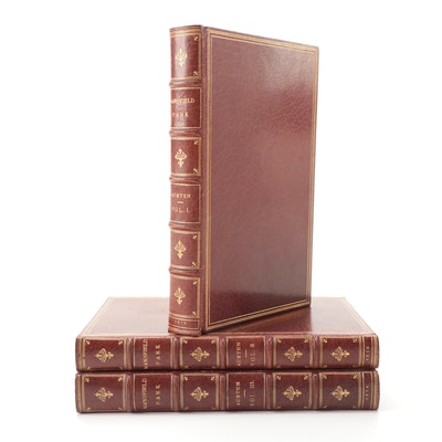 "First Edition ""Mansfield Park"" Three-Volume Set by Jane Austen, 1814"