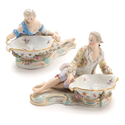 Meissen Porcelain Sweetmeat Dishes, 19th Century
