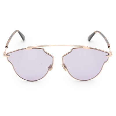 Christian Dior 06JU1 So Real Pop Purple Lens Sunglasses with Case