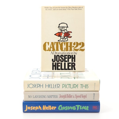 "Signed First Edition ""No Laughing Matter"" and More by Joseph Heller"