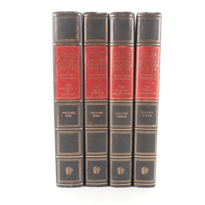 """Churchill, Chartwell Edition (1st), """"History of the English Speaking Peoples"""""""