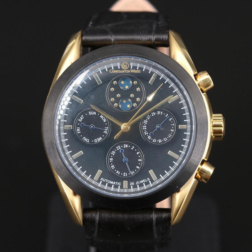 Constantin Weisz Triple Calendar Wristwatch