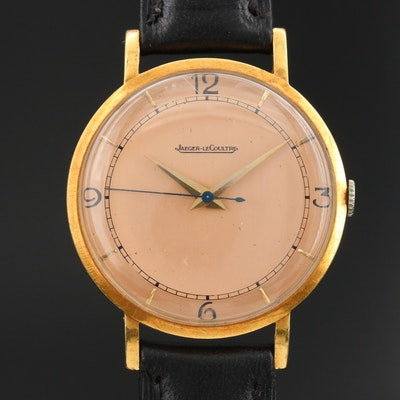 Jaeger-LeCoultre 18K Stem Wind Wristwatch