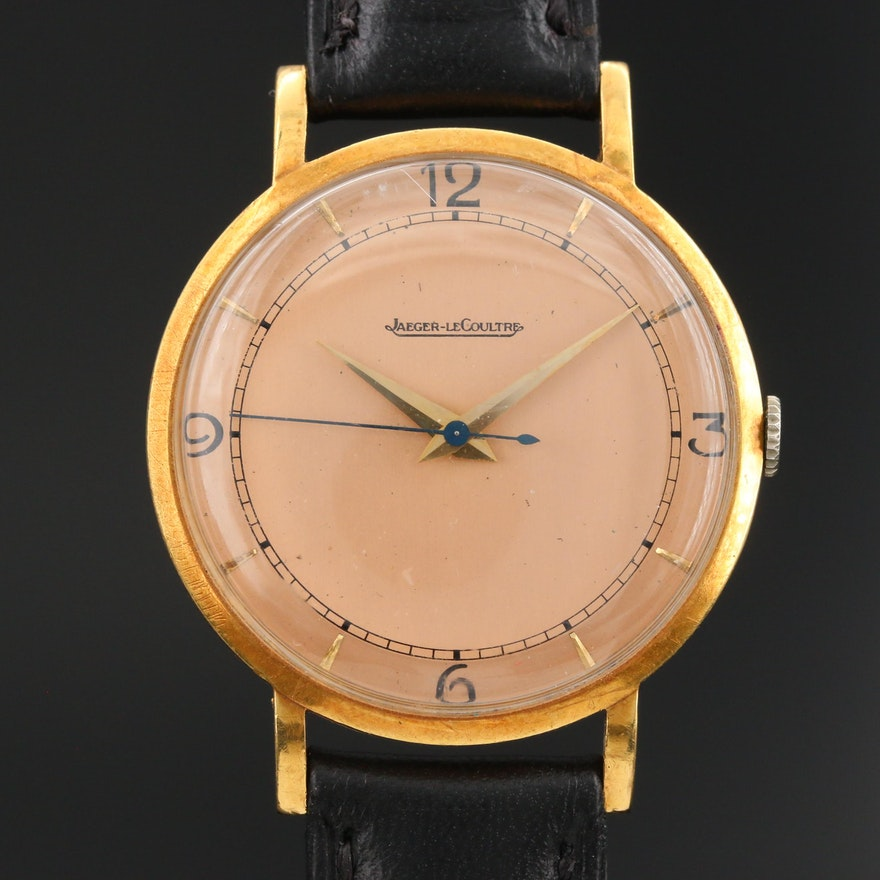 Jaeger-LeCoultre 18K Stem Wind Wristwatch