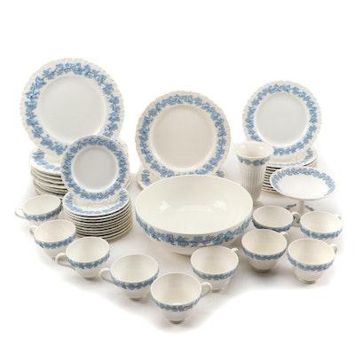 Wedgwood Embossed Queen's Ware Dinnerware