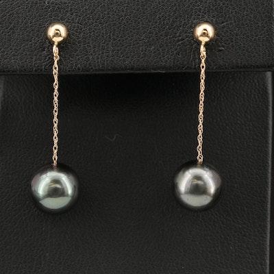 EFFY 14K Pearl Drop Earrings