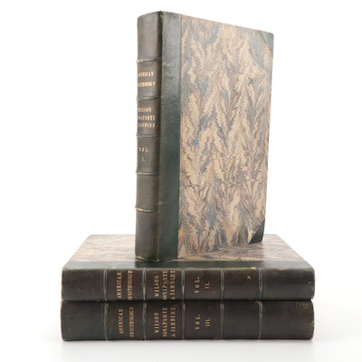"First UK Edition ""American Ornithology"" Three-Volume Set, 1832"
