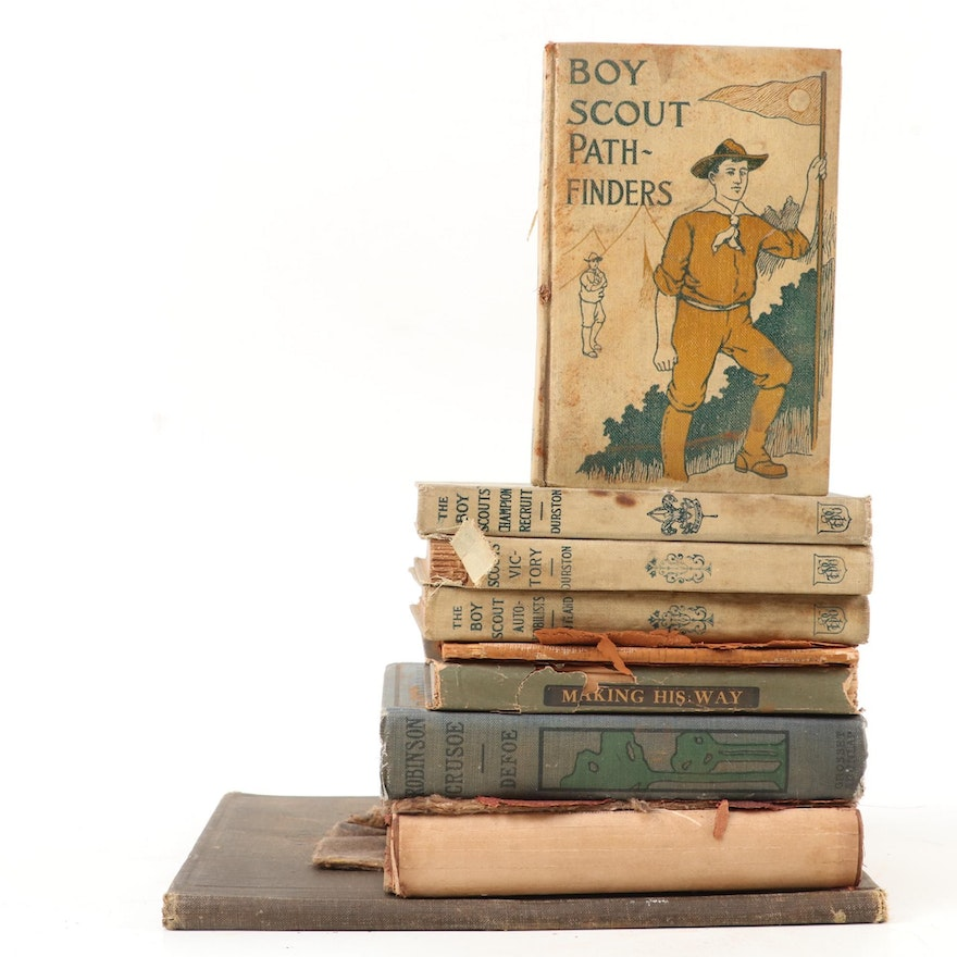 """""""Boy Scouts"""" Novels and More Children's Books, Early 20th Century"""