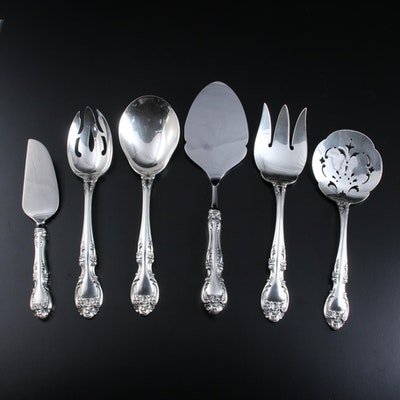 "Gorham ""Melrose"" Sterling Silver Pastry Server and Other Utensils, 1948–2009"