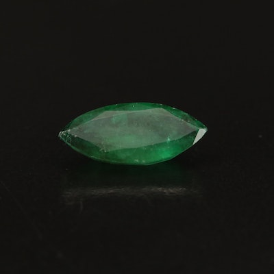 Loose 2.62 CT Marquise Faceted Emerald