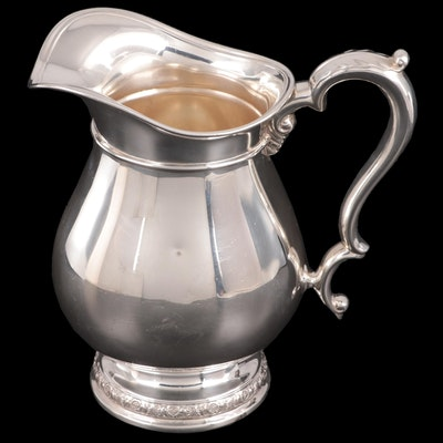 "International ""Prelude"" Sterling Silver Pitcher"