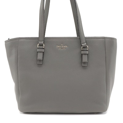 Kate Spade Jackson Street Denise Tote in Willow Pebbled Leather
