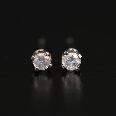 14K 0.09 CTW Diamond Stud Earrings