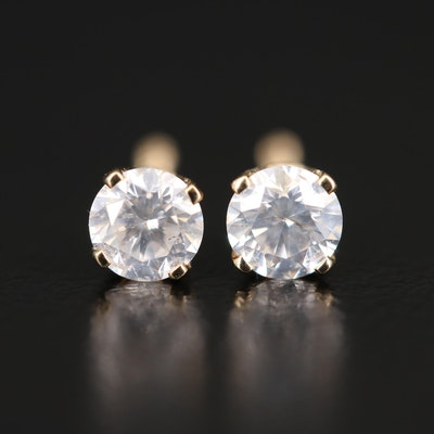 14K 0.42 CTW Diamond Stud Earrings