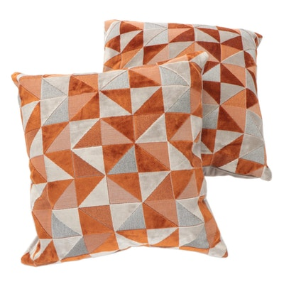 Caldeira Limited Velvet Down-Filled Throw Pillows
