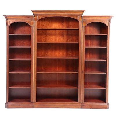Furniture Fair 3-Piece Illuminated Bookcase Units, Late 20th Century