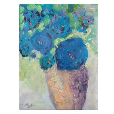 "Claire McElveen Acrylic Painting ""Grace,"" 2021"