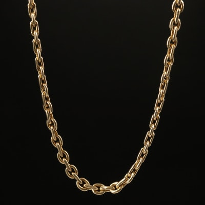 14K Cable Chain Necklace
