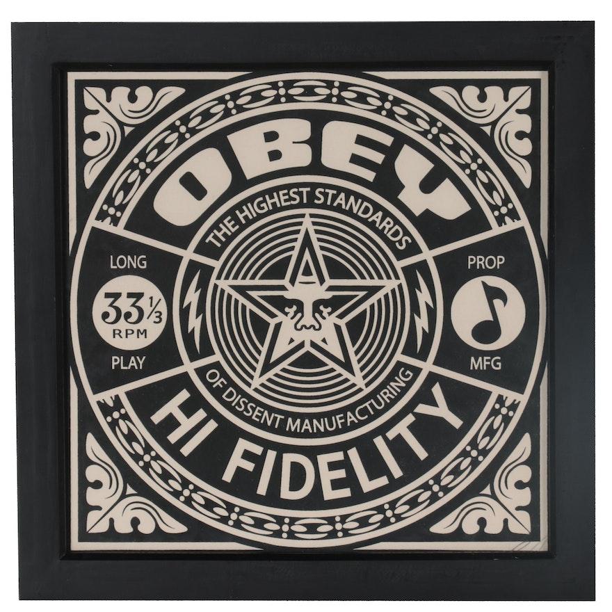 "Shepard Fairey Serigraph ""Hi Fidelity,"" 2011"