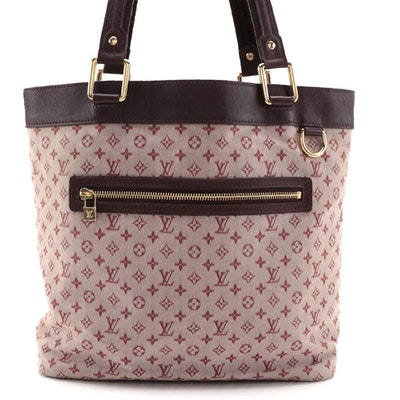 Louis Vuitton Lucille GM TST Bag in Mini Cherry Lin Monogram Canvas