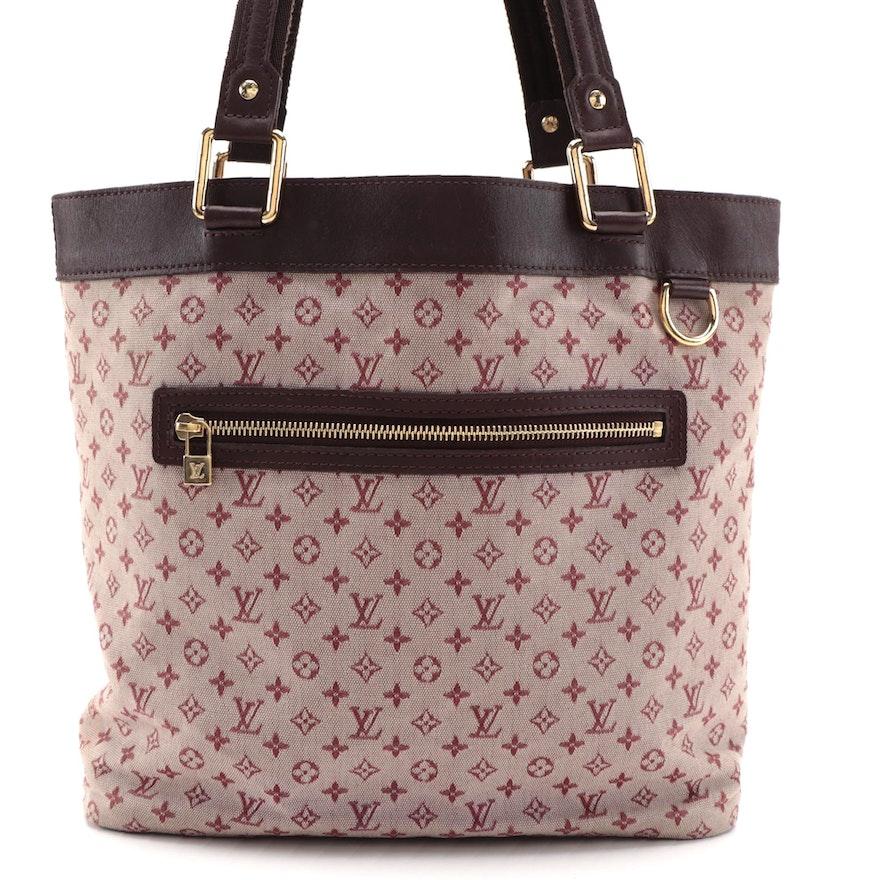 Louis Vuitton Lucille GM TST Bag in Mini Cherry Lin Monogram Canvas