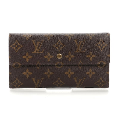 Louis Vuitton Portefeuille International Wallet in Monogram Canvas