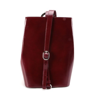Cartier Panthère Sling Bag in Burgundy Leather