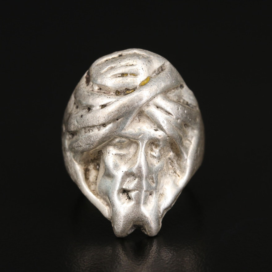 Sterling Figural Ring