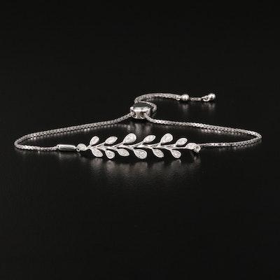 EFFY 14K Diamond Bolo Bracelet