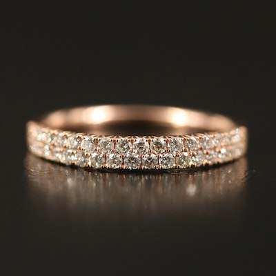 EFFY 14K Double Row Diamond Band
