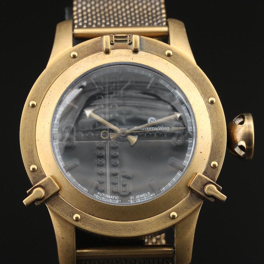 Constantin Weisz Porthole Design Wristwatch