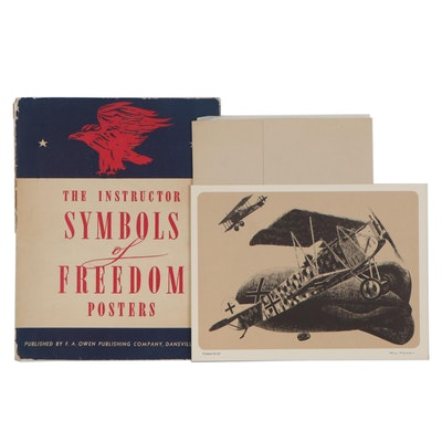 "Lithographs after Harry Borgman and ""The Instructor Symbols of Freedom Posters"""