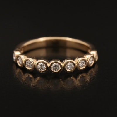 EFFY 14K Bezel Set Diamond Band