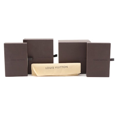 Louis Vuitton Drawer Style Gift Boxes and Dust Bag