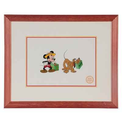"The Walt Disney Company Serigraph Cel ""Mr. Mouse Takes a Trip"""