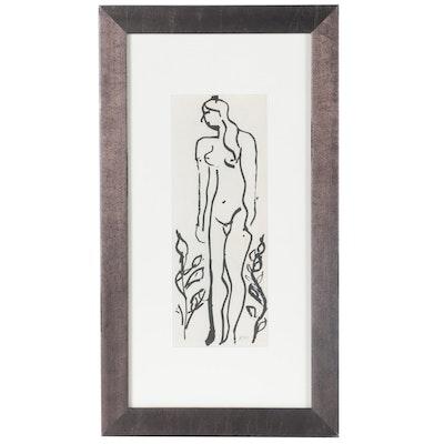 Heliogravure of Figurative Scene after Henri Matisse, 1958