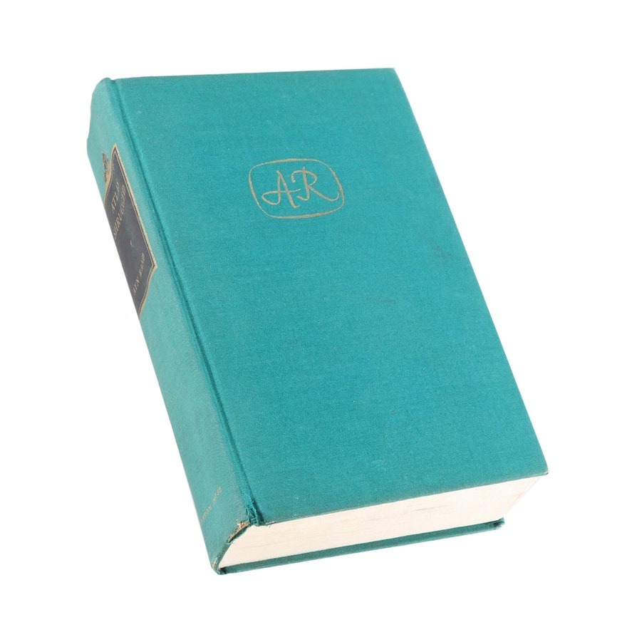 """First Edition, First Printing """"Atlas Shrugged"""" by Ayn Rand, 1957"""