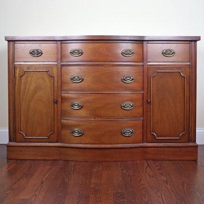 Hepplewhite Style Mahogany Buffet, Mid to Late 20th Century
