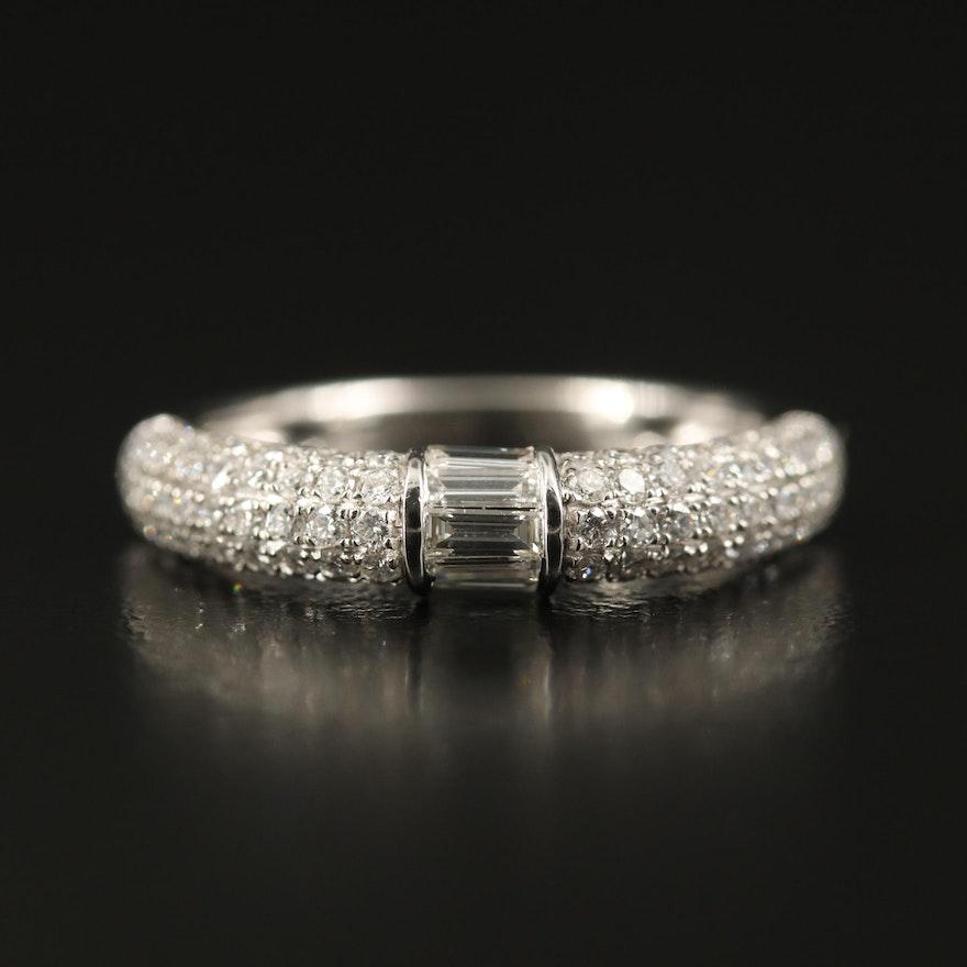 EFFY 14K Diamond Pavé Ring