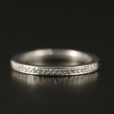 Tacori Platinum Diamond Band