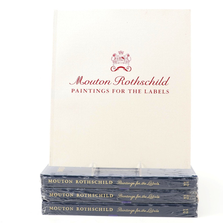 """""""Mouton Rothschild: Paintings for the Labels"""" Book Collection, 2007"""