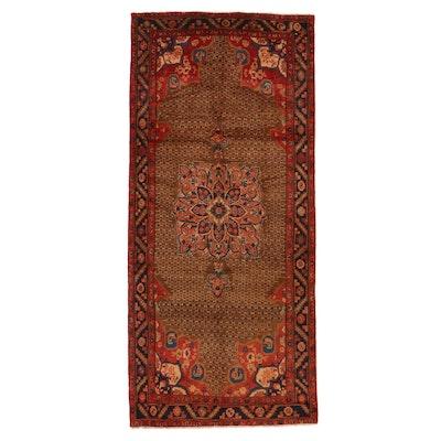 4'10 x 10'6 Hand-Knotted Persian Kolyai Area Rug